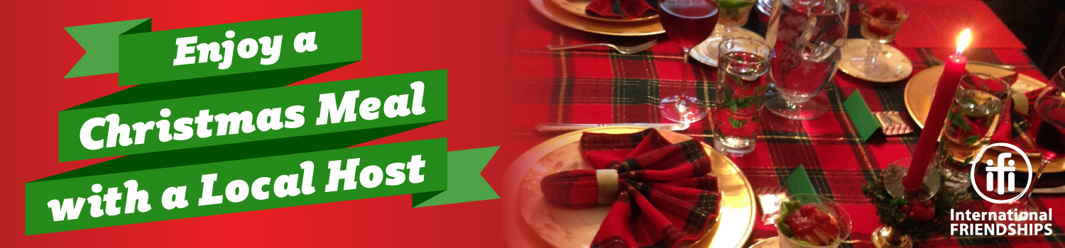 You're Invited: Christmas Meal!