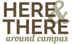 Here & There around campus logo