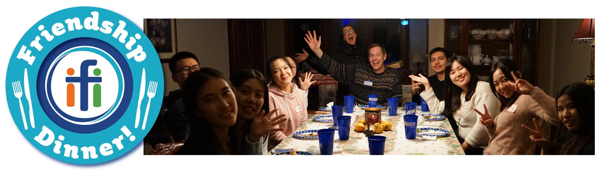 Friendship Dinner October 12th, 2019