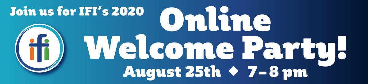 Online Welcome Party 2020!